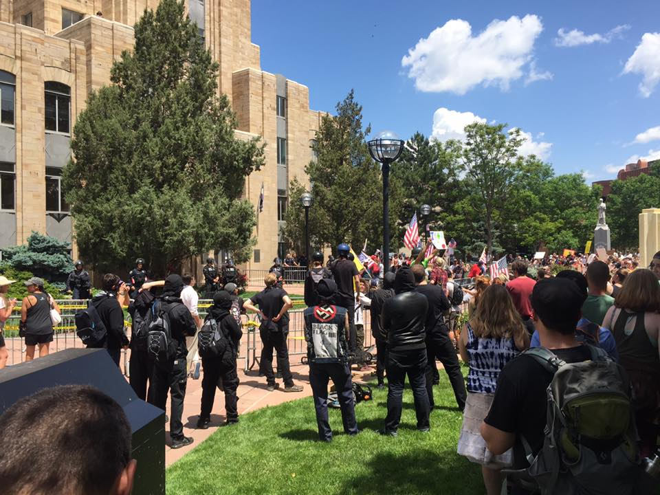 Boulder Free Speech Rally 6/3/2017