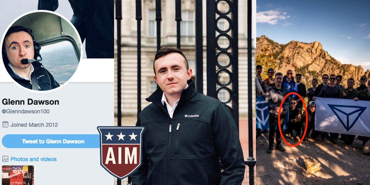 Identity Evropa Member Glenn M. Dawson (CO)