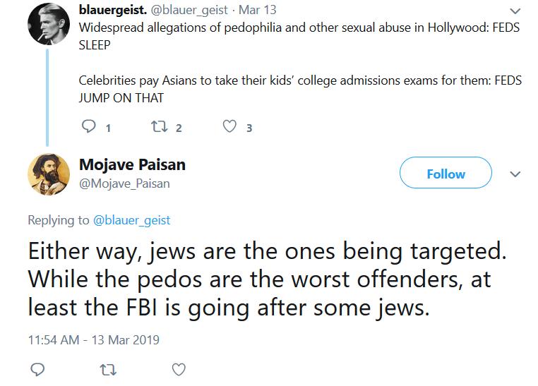 Ricchard Golgart Jews FBI