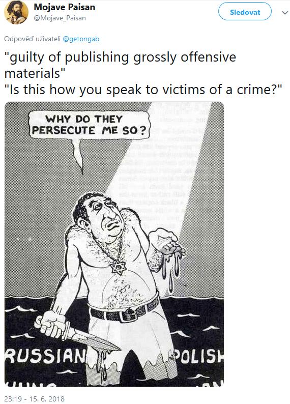 Ricky Golgart Mojave Paisan Antisemitic Meme