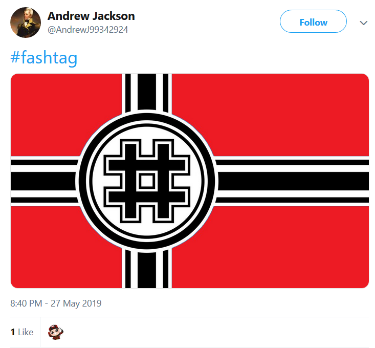 Jeremy Riesberg American Identity Movement Fashtag Jackson