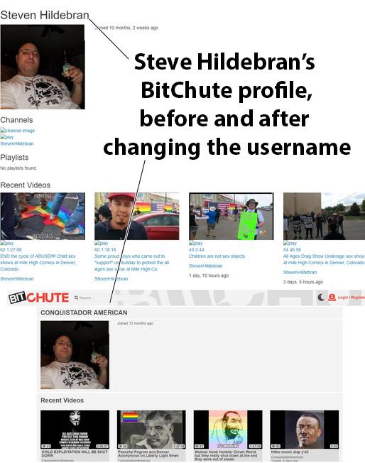 Steve_Hildebran_Nazi_Colorado_Springs_BitChute