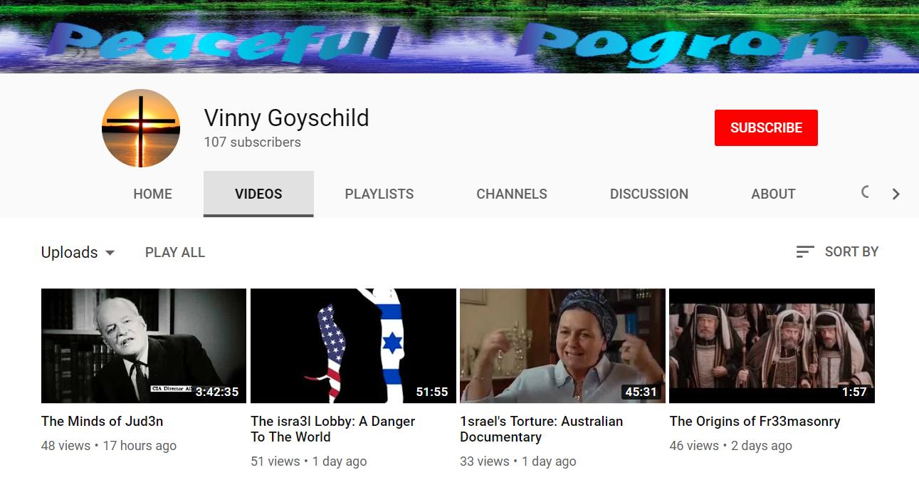 Vinny Goyschild Youtube Channel