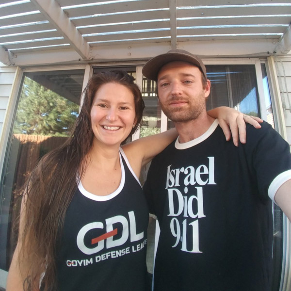 Goyim Defense League Members Vincent & Briana Bertinelli (CO)