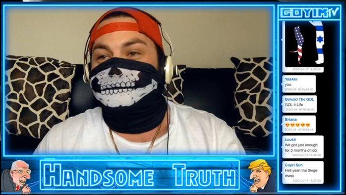 "Anti-Semite Activist Jon Minadeo aka ""Handsome Truth"" Exposed (CA)"