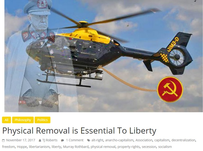 Liberty Hangout Physical removal is necessary by tj roberts