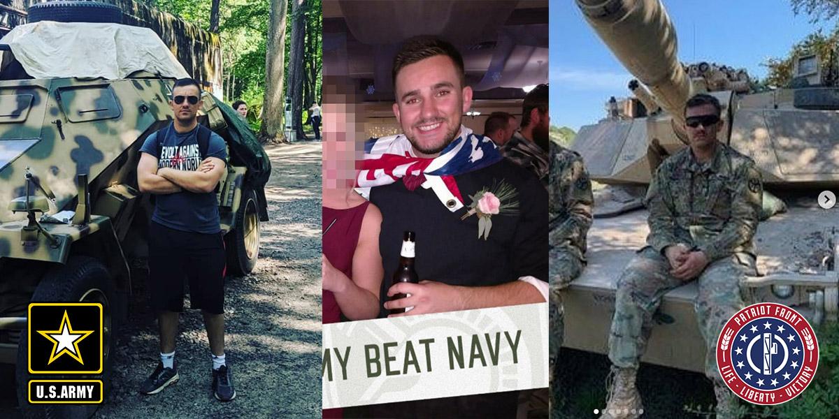 Andrew AJ Sciulli US Army Patriot Front Member Maryland